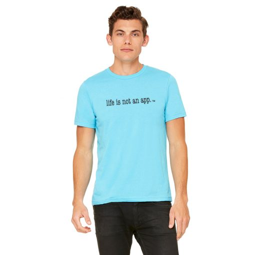 Men's Athletic in Neon Blue